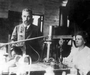 marie curie, girl power, and radioactivity image