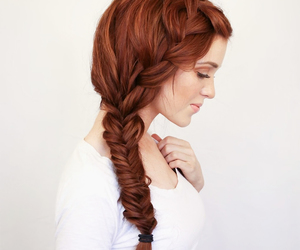 wedding hair, summer wedding, and braid tutorial image