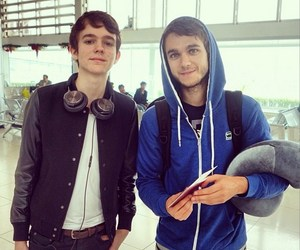 zedd, madeon, and dj image