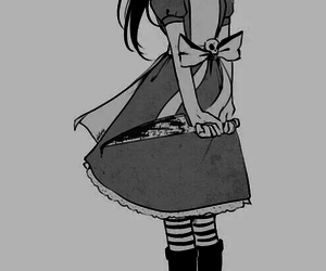 alice, anime, and blood image