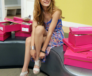 bella thorne, candies, and dress image