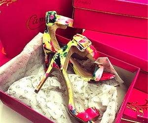 candies, shoes, and shopping image