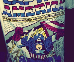 captain america and t-shirt image