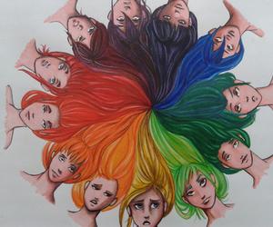circle, fun, and colors image