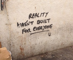 grafiti, reality, and true image