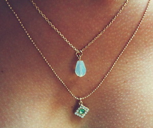 alternative, necklace, and summer image