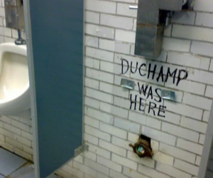 duchamp, art, and funny image