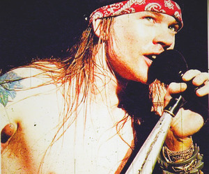 axl, axl rose, and gnr image
