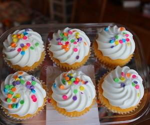 cupcake, food, and yum image