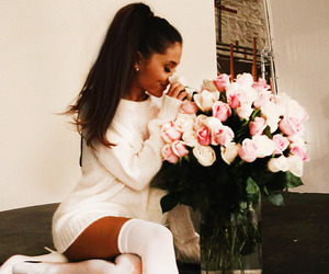 perfection, ariana grande, and roses image