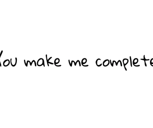 complete, I Love You, and make image