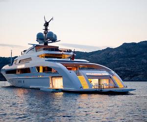 luxury, yacht, and fashion image