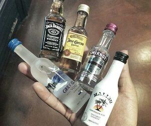 alcohol, malibu, and drink image