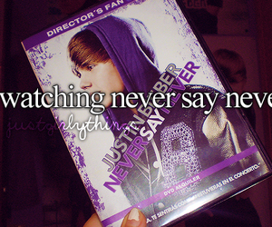 justin bieber, never say never, and nsn image