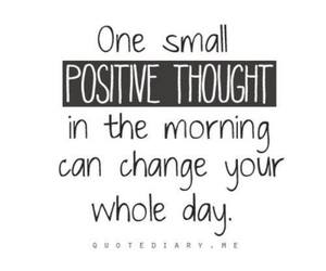 quotes, positive, and morning image