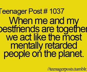 best friends, funny, and teenager post image