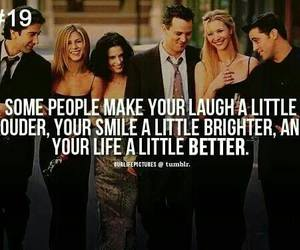 friends, quote, and laugh image