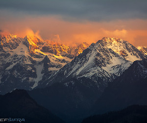 beautiful, mountains, and photography image