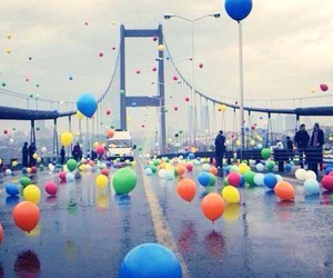 balloons and istanbul image