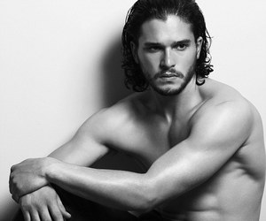 hair, handsome, and jon snow image