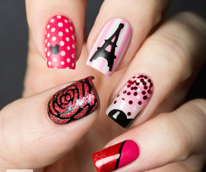 beau, nail art, and vernis a ongles image