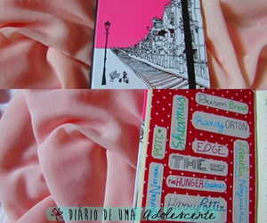 journal, photo, and pink image