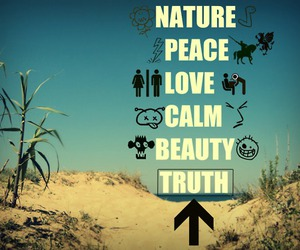 beauty, calm, and nature image