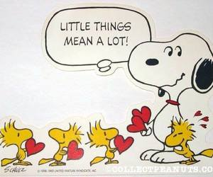 heart, littlethings, and snoopy image