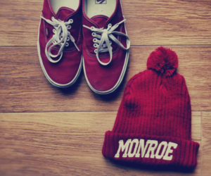 vans, red, and monroe image
