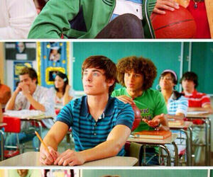 high school musical, zac efron, and disney image