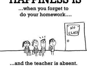happiness, funny, and homework image