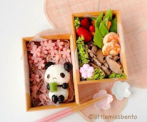 bento, delicious, and food image