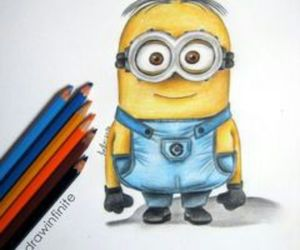 dibujo and minions image