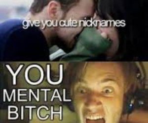 pewdiepie, funny, and nickname image
