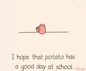 potato and school image