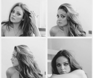 Mila Kunis, hair, and sexy image