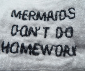 mermaids, cute, and funny image
