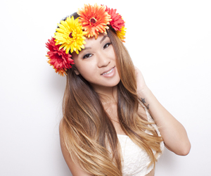 flower crown, flowercrowns, and flowers image