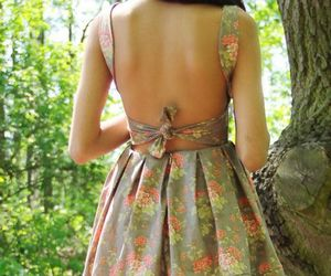 cute dress, lace, and romantic image