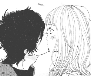 kiss, anime, and manga image