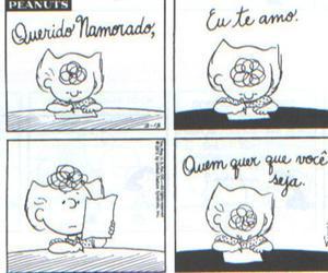 peanuts, text, and tirinha image