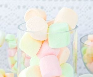 pastel, food, and marshmallow image