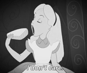 alice, disney, and i don't care image