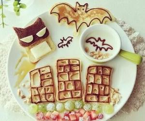 batman, breakfast, and food image