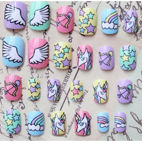 cool, kawaii, and nail polish image