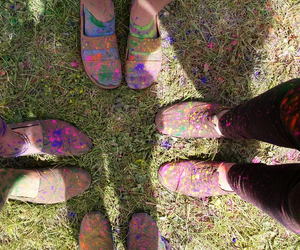 colors, shoes, and sisters image