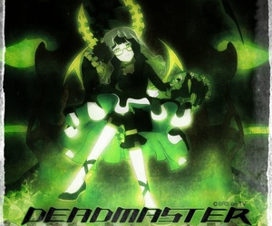 anime, black rock shooter, and dead master image