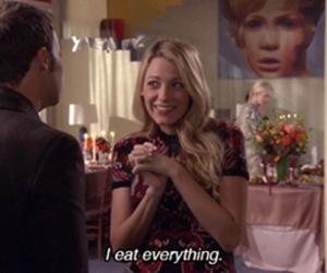 gossip girl, food, and eat image
