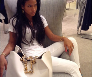 cassie, white, and bag image