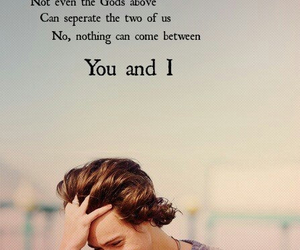 one direction, Harry Styles, and you and i image